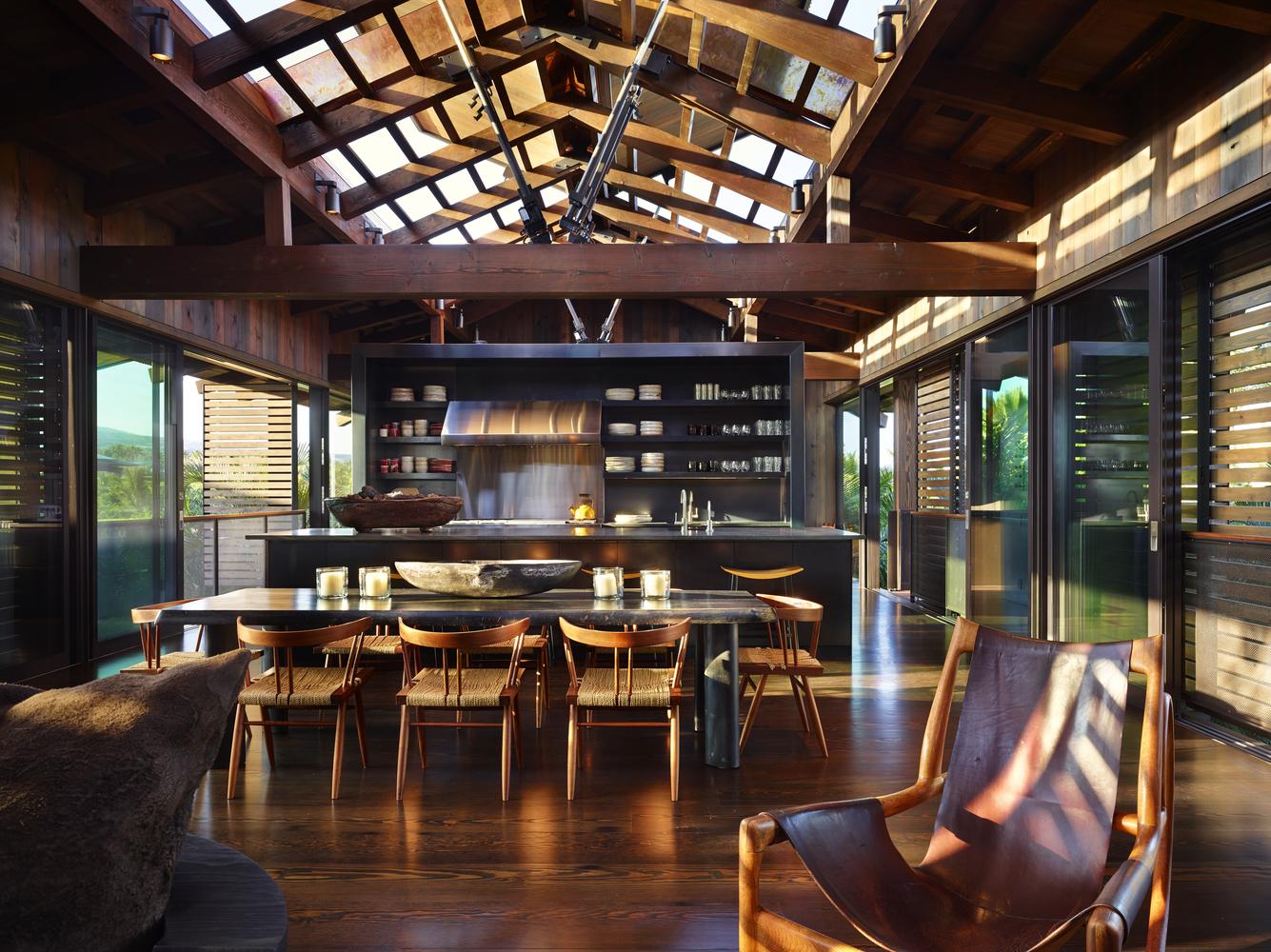 L'obiettiv è quello di imitare gli edifici tipici della Polinesia / Benjamin Benschneider