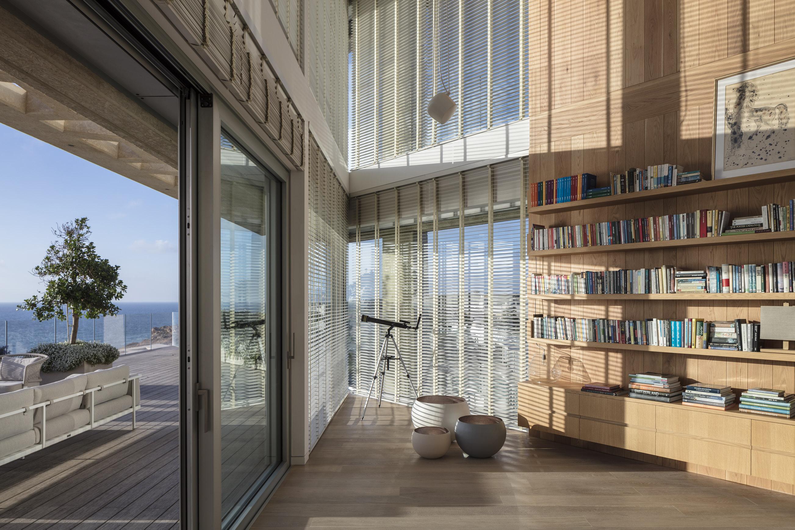 Un particolare, tra interno ed esterno / Gottesman-Szmelcman Architecture