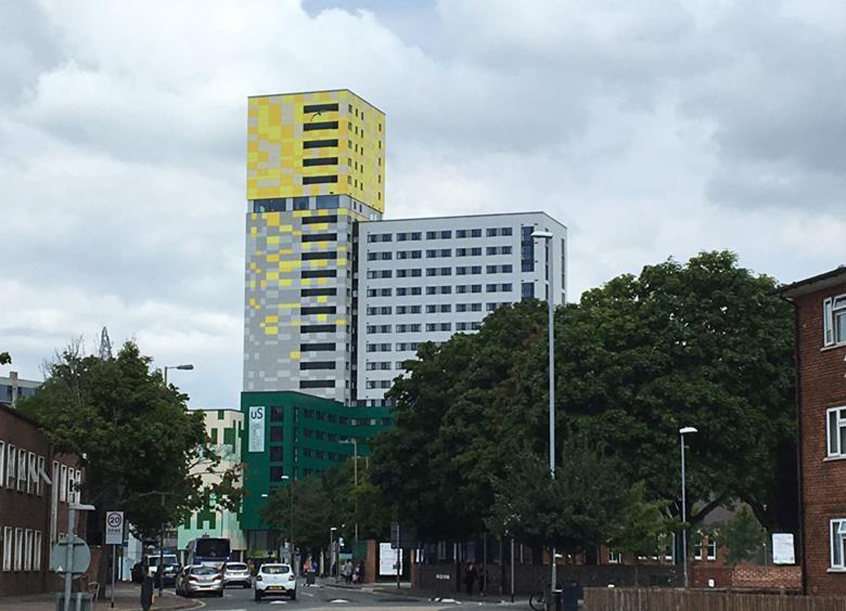 Greetham Street Student Halls (Portsmouth) di Cooley Architects