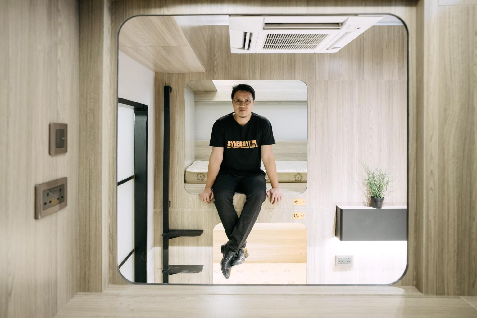 L'appartamento-capsula di Hong Kong / Bloomberg
