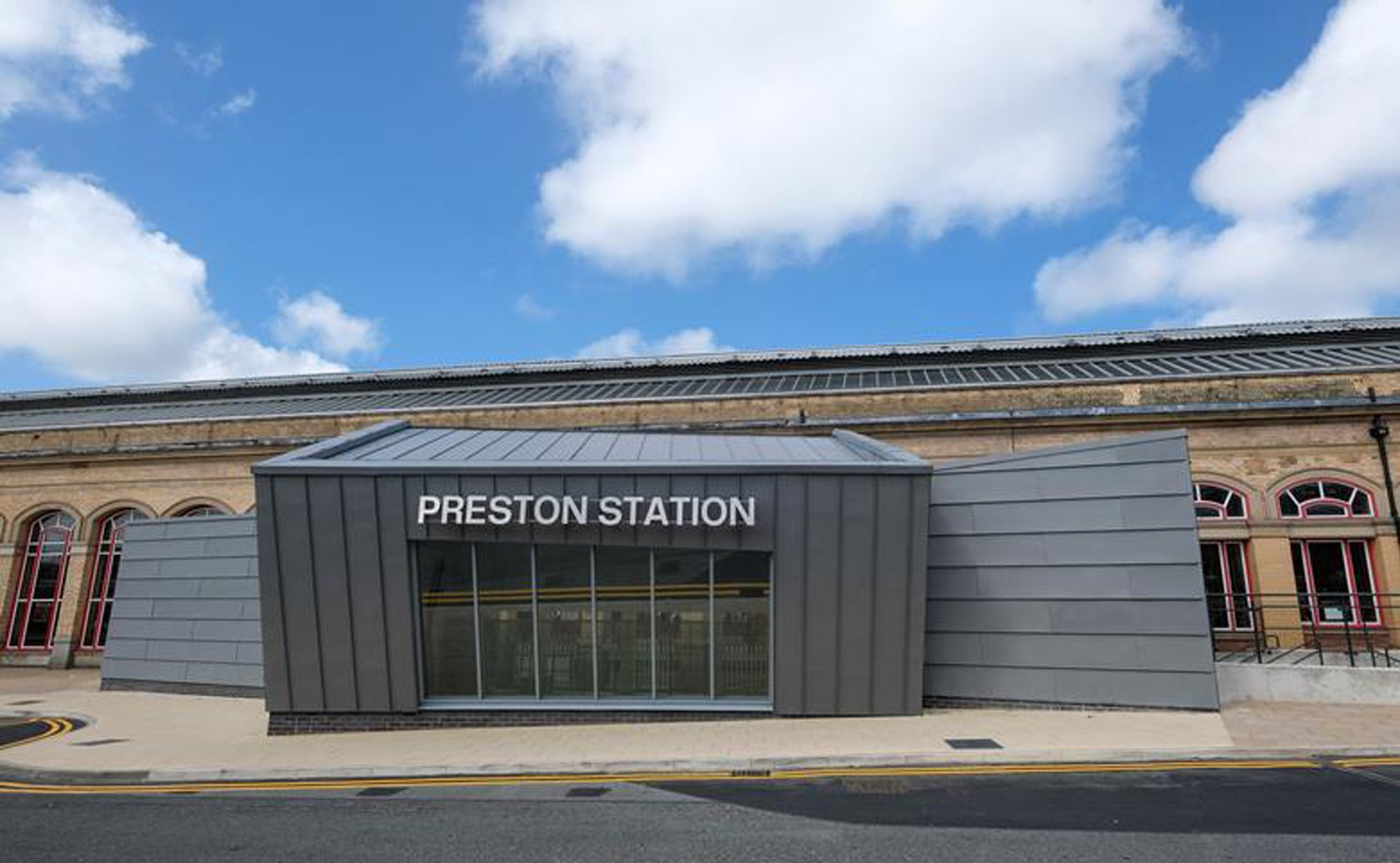 Preston Railway Station Butler Street Entrance (Preston) di AHR
