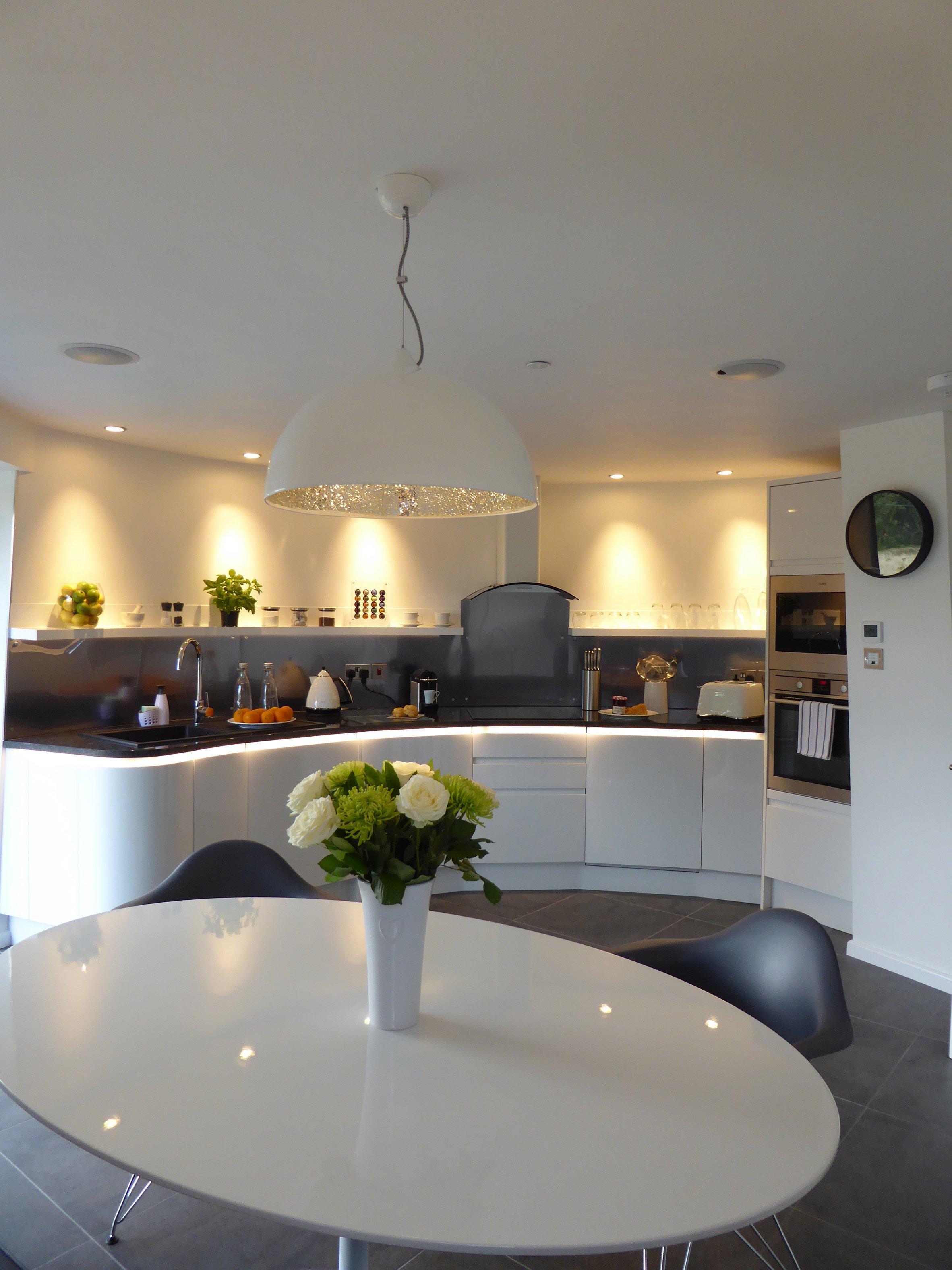 La cucina/sala da pranzo / Beech Arquitects
