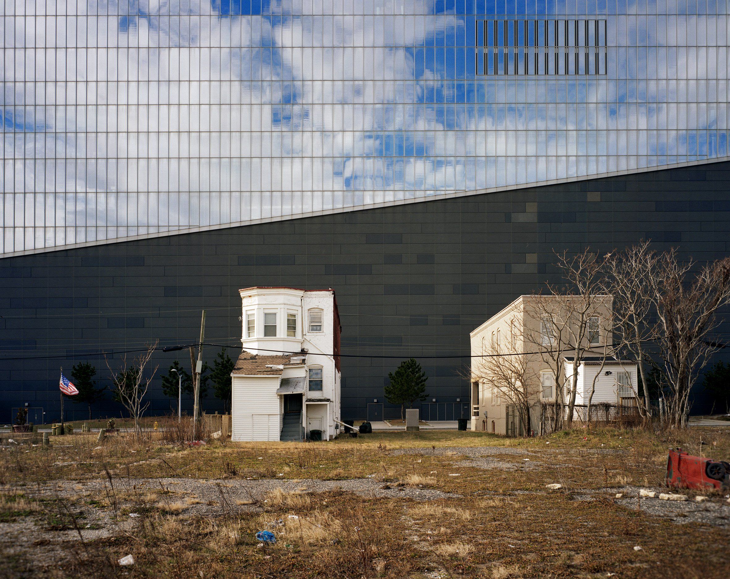 North wall of the Revel Casino, Atlantic City, New Jersey, USA