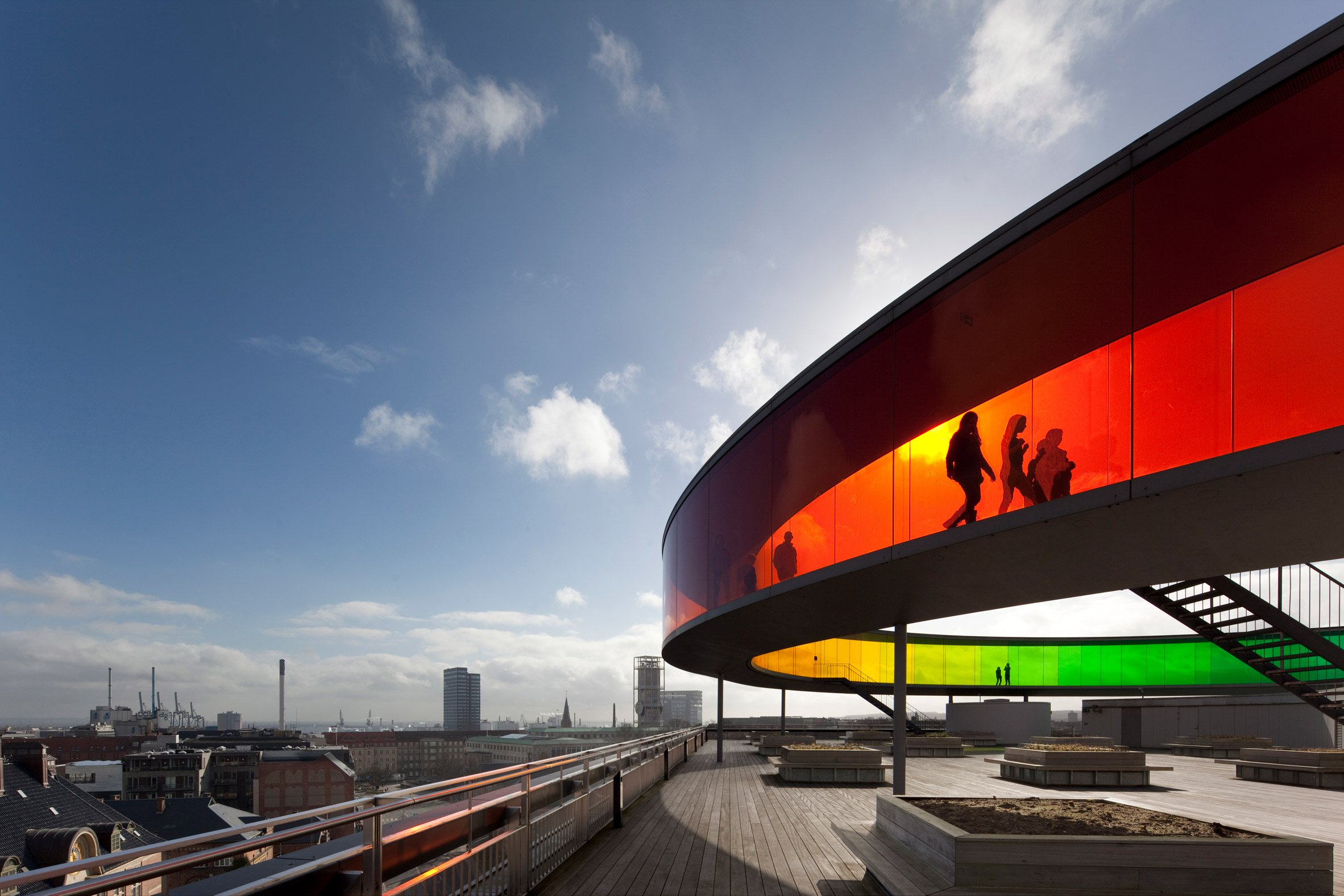 ARoS Aarhus Kunstmuseum, Denmark, by Schmidt Hammer Lassen and Olafur Eliasson