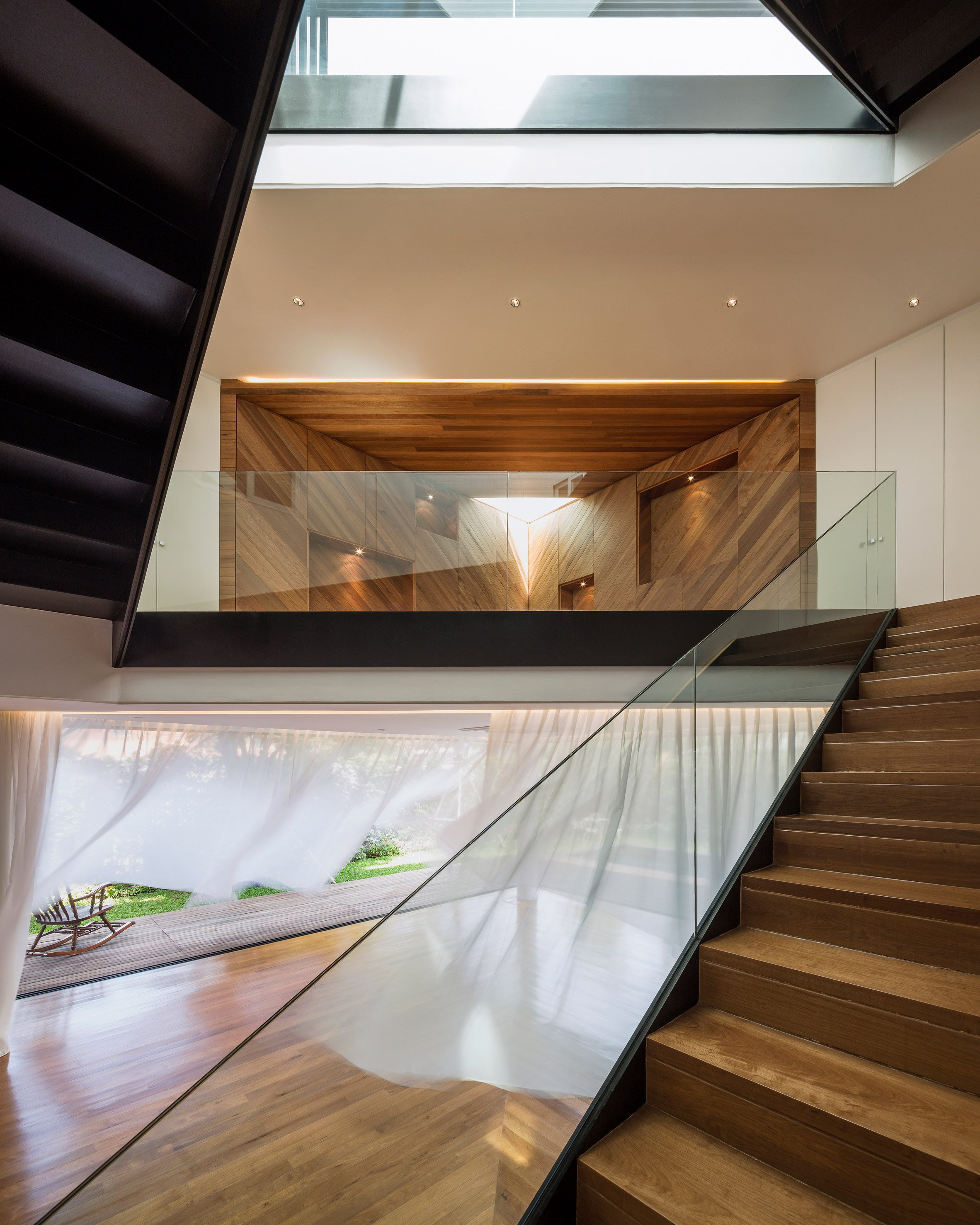 Baan Mom private residence, Bangkok, Thailand, by Integrated Field