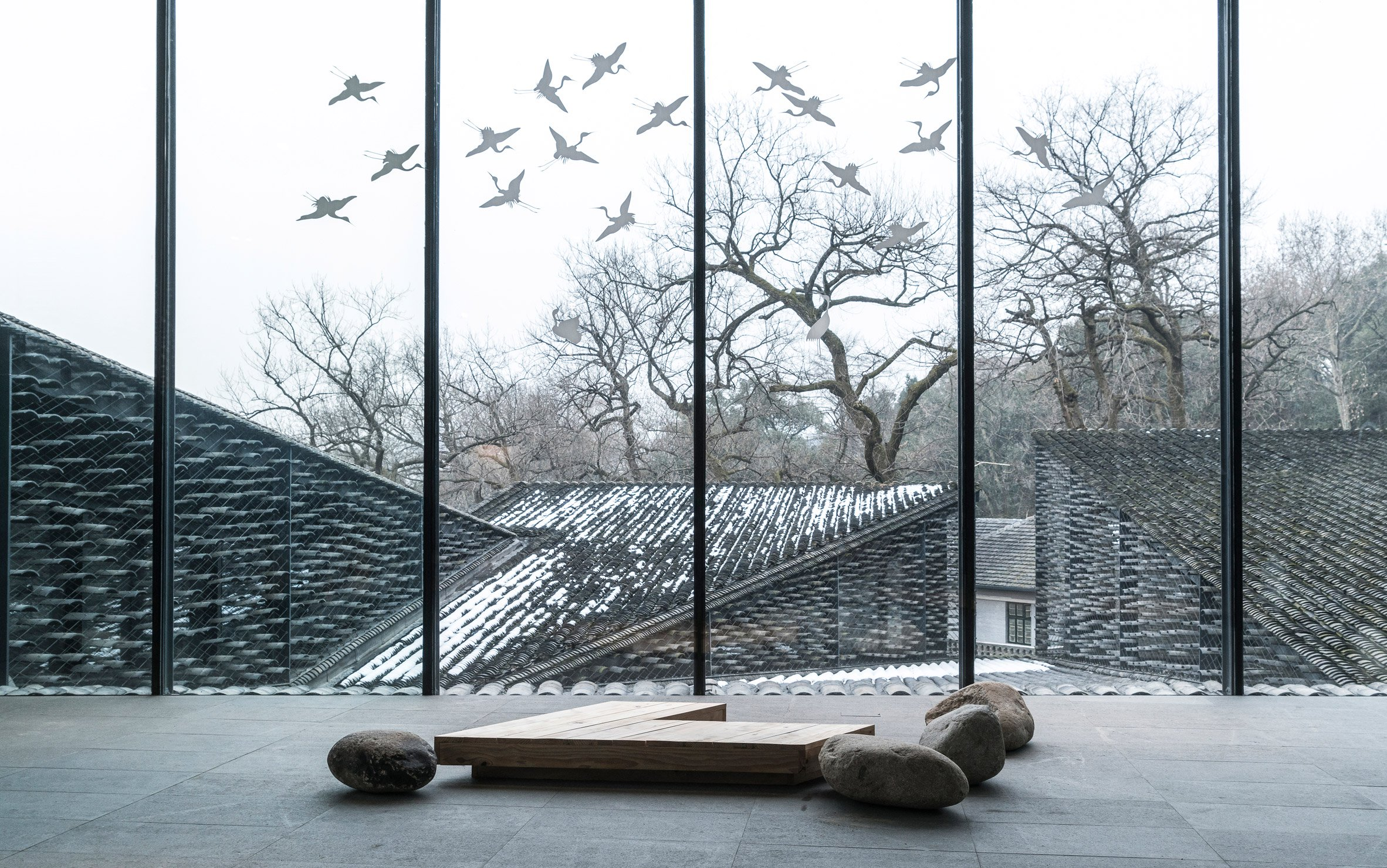 Folk Art Museum, China Academy of Arts, Hangzhou, China, by Kengo Kuma
