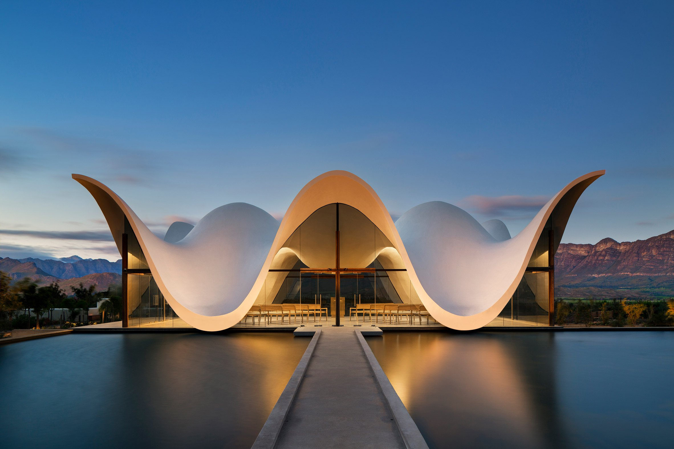 Bosjes Chapel, Cape Town (South Africa), by Steyn Studio / Adam Letch Project / Adam Letch Project