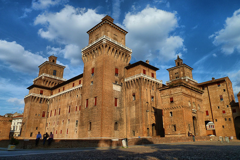 A Ferrara, città degli Estensi