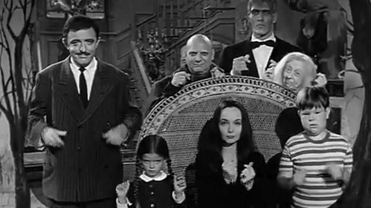 """Fotogramma della serie """"La famgilia Addams"""""""