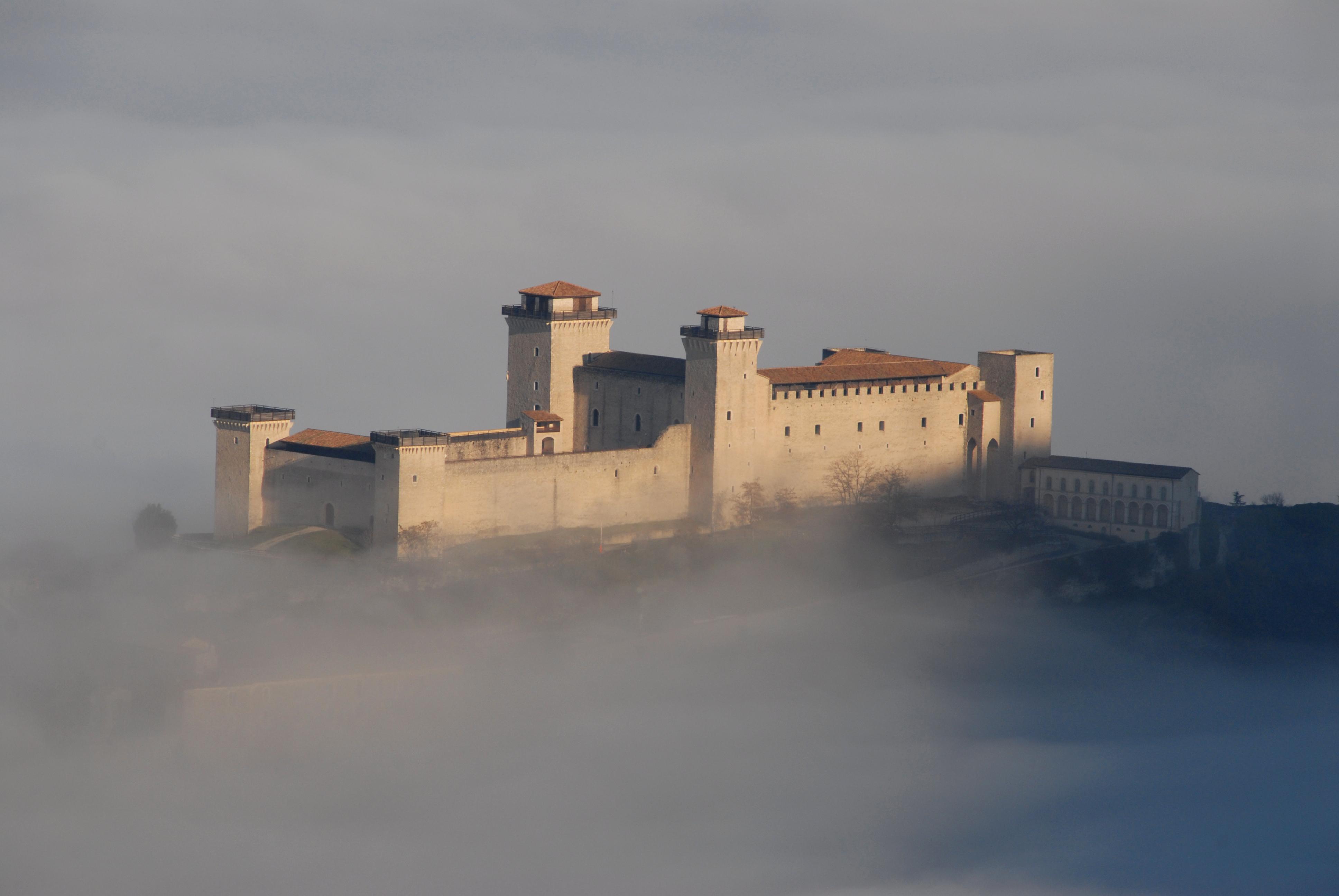 Il potere pontificio svetta sulla città di Spoleto