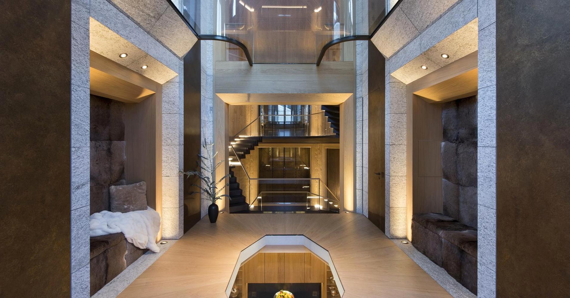 La lussuosa villa situata a St. Moritz in vendita a 155 milioni di euro / 20 Minuten
