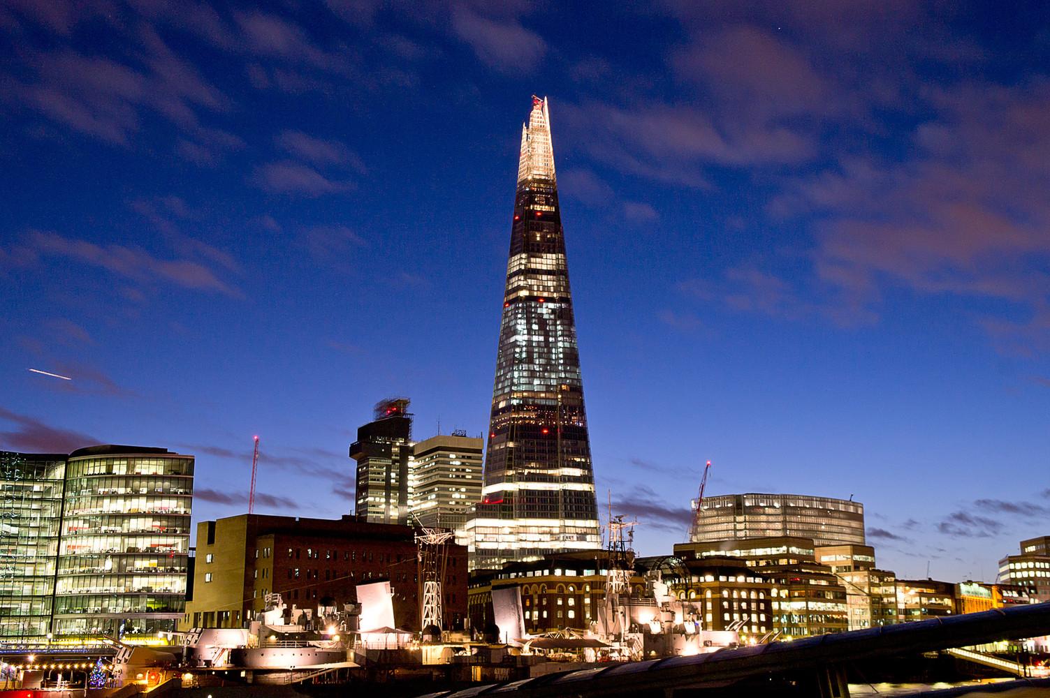 10. The Shard, Londra (1.611 milioni di euro)