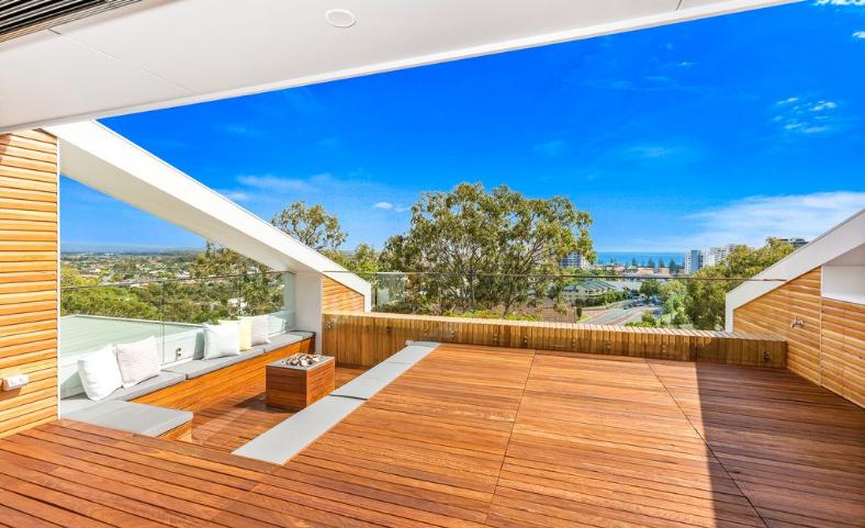 Una terrazza per le feste o per rilassarsi