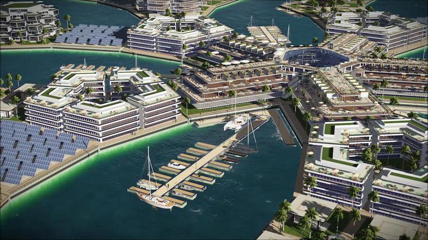 Le città galleggianti avrenno uffici e centri ricreativi
