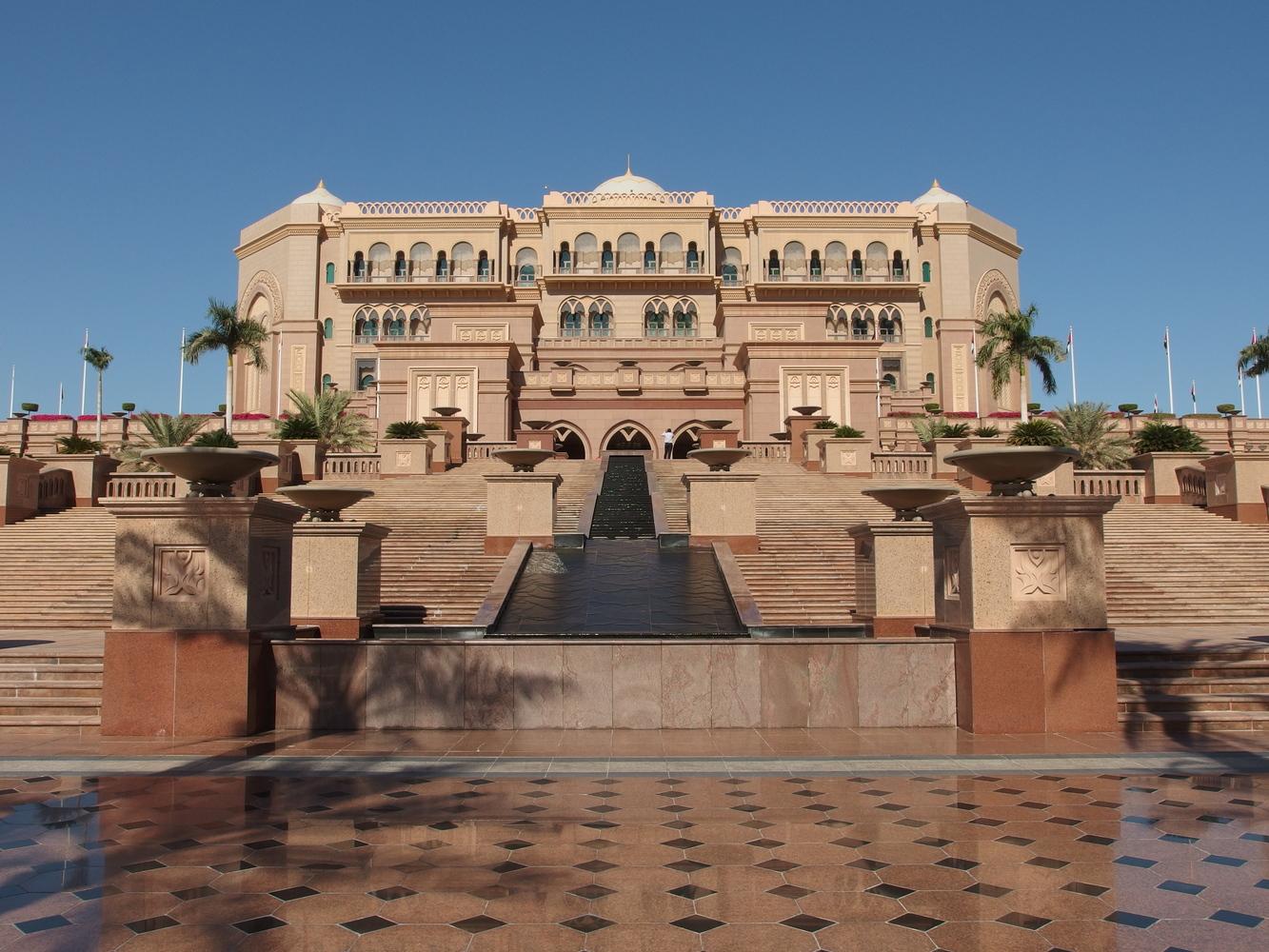 2. Emirates Palace, Abu Dhabi (2.544 milioni di euro)