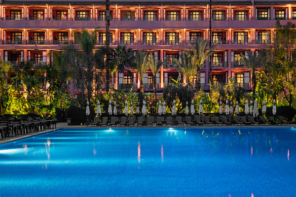 La piscina della Mamounia / Mamounia