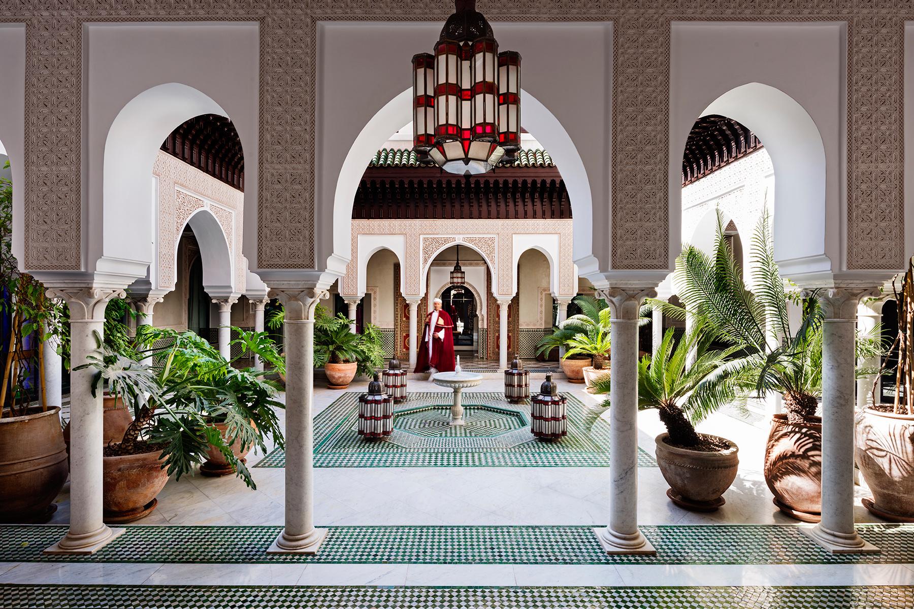 La Mamounia si trova a Marrakech / Mamounia