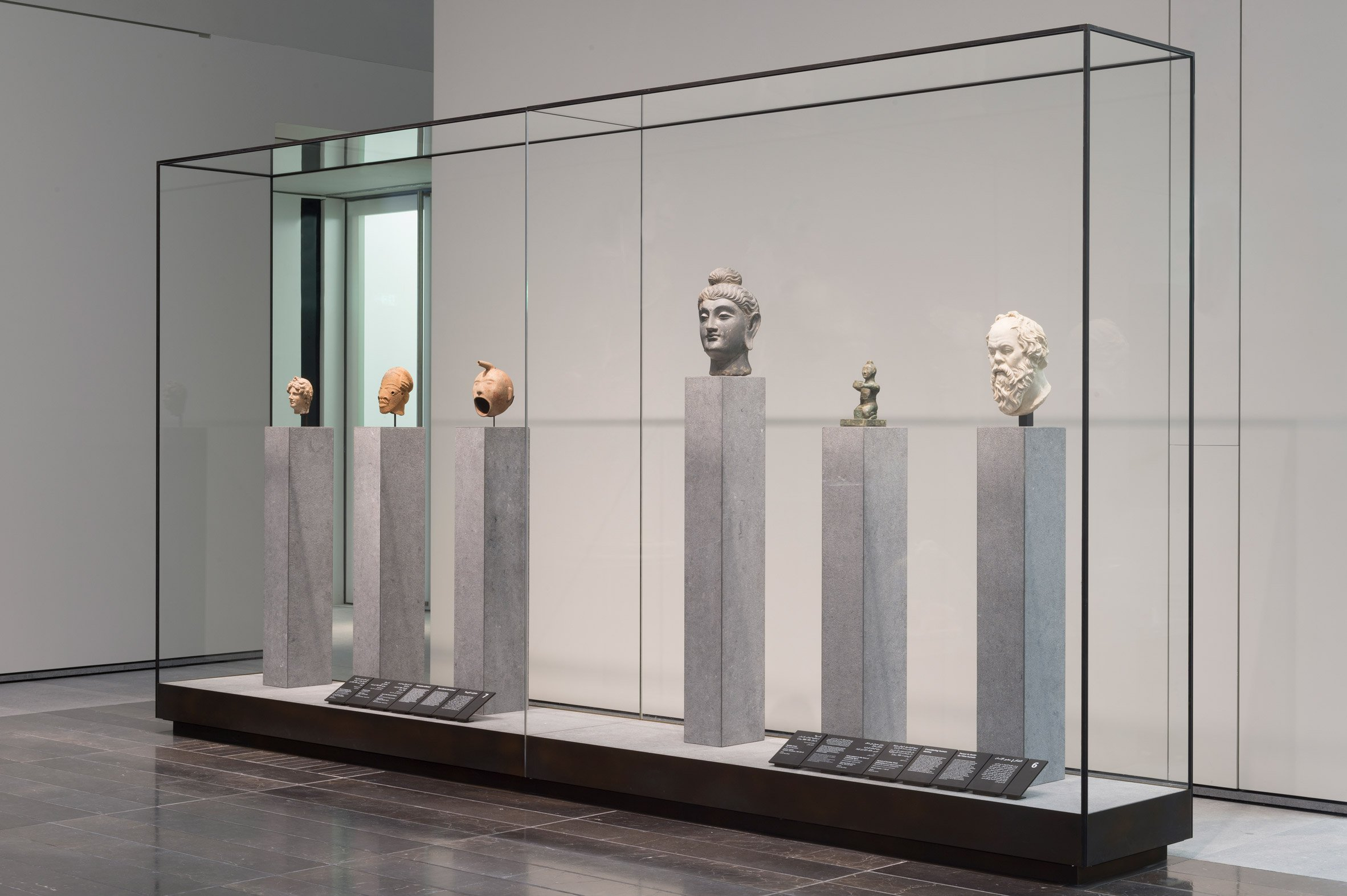 Ci saranno prestiti del governo francese e la collezione del museo / Roland Halbe/Louvre Abu Dabi
