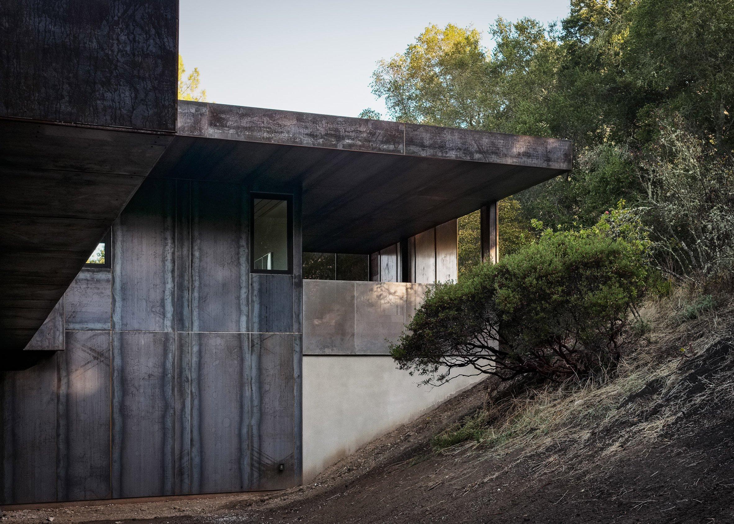La casa sfrutta la luce naturale ed è protetta dagli alberi / Joe Fletcher Photography