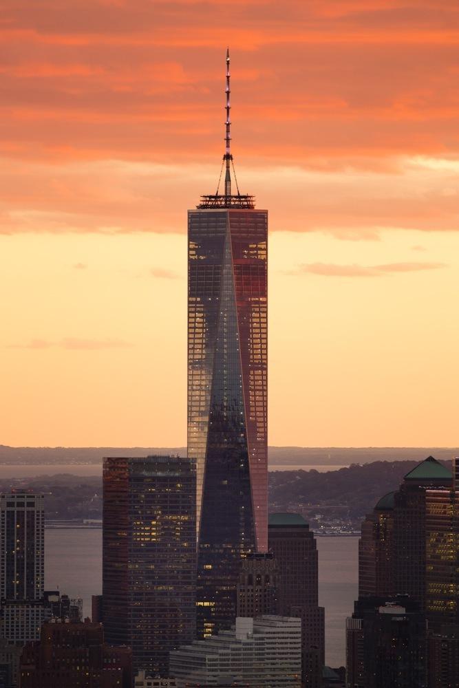1. One World Trade Center, New York City (3.307 milloni di euro)