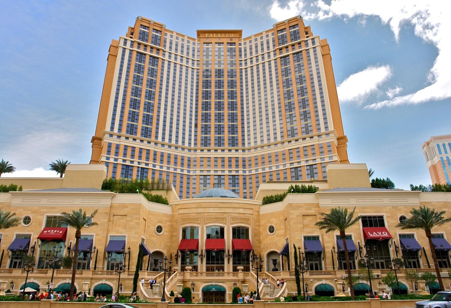 9. The Palazzo, Las Vegas (1.611 milioni di euro)