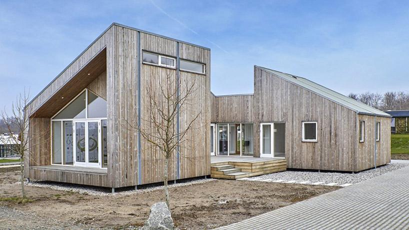 E' realizzata con materiali riciclati provenienti dai resti biologici dell'industria agricola / een til een
