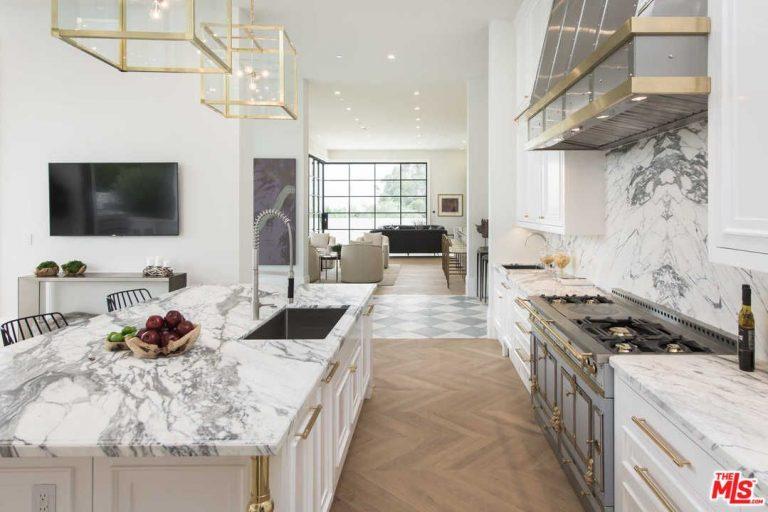 Una cucina di lusso