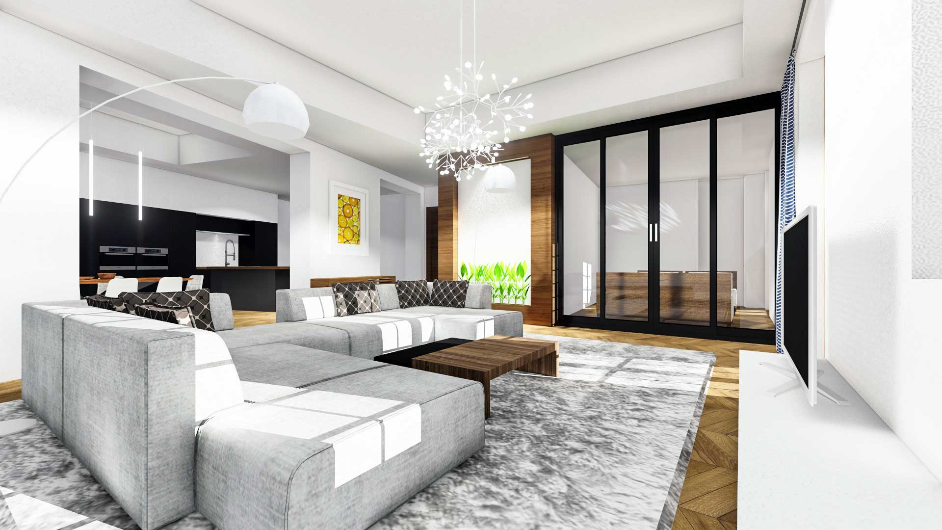 21 idee per frazionare un appartamento fotogallery for Arredare parete soggiorno