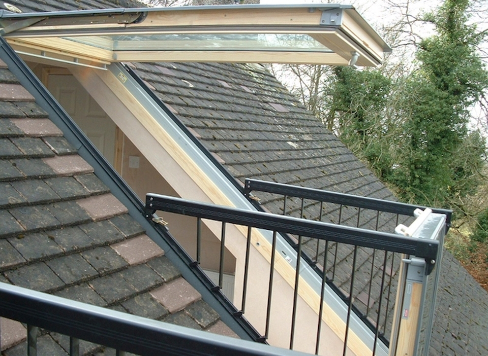 la soluzione a una casa senza terrazza una finestra che