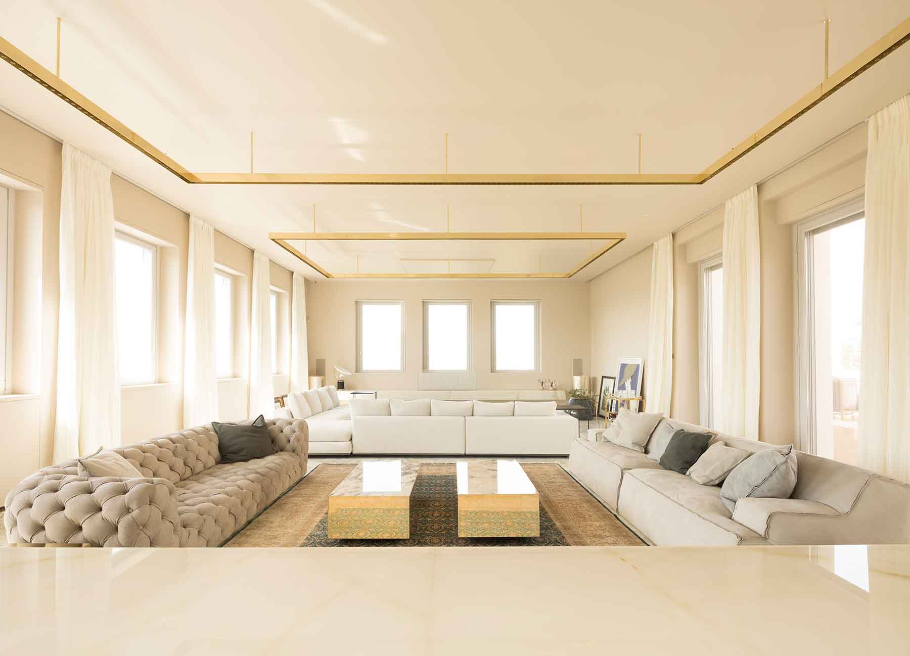 L'abitazione dispone di ampi spazi
