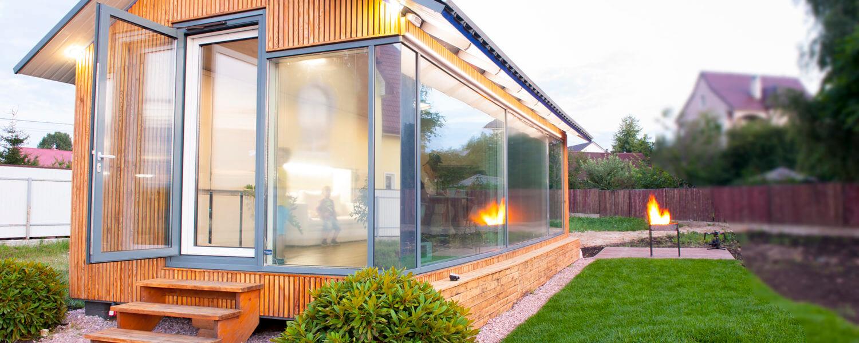 Una casa costruita in sole otto ore grazie alla stampa 3d for Ottenere una casa costruita