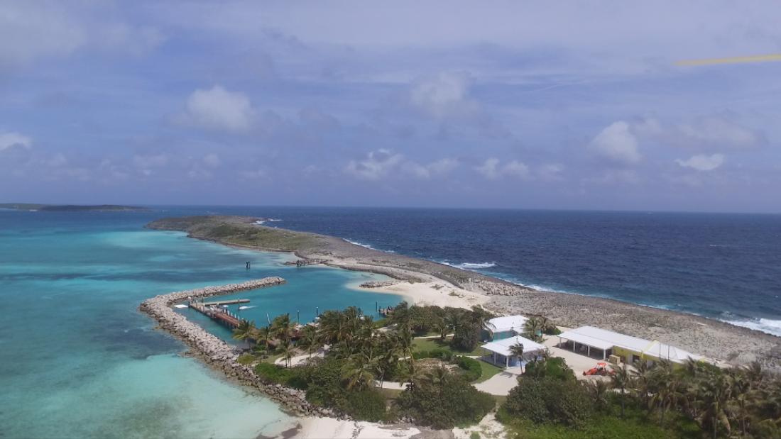Frozen Cay, le Bahaman