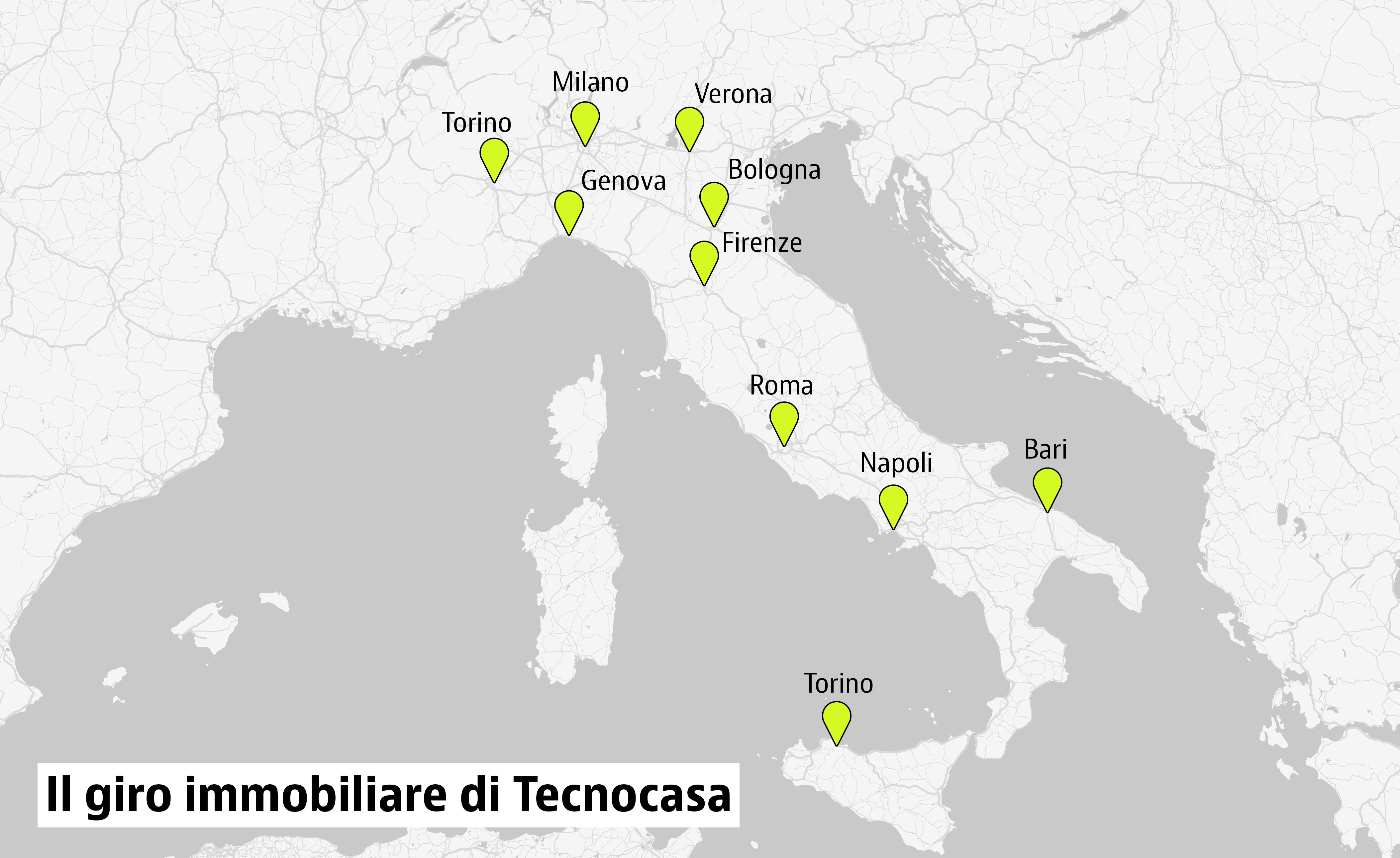 Il panorama immobiliare nelle principali citt italiane for Cambio destinazione d uso sblocca italia