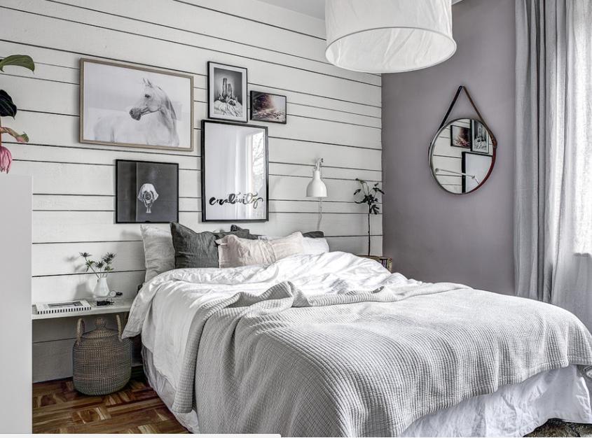 Letto Matrimoniale Incassato Nellarmadio : Come organizzare una camera da letto piccola sei idee salvaspazio