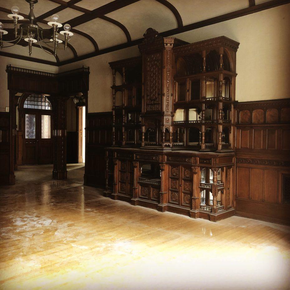 La villa è stata costruita nel 1863 da Elisha Packer Wilbur / Messy Nessy