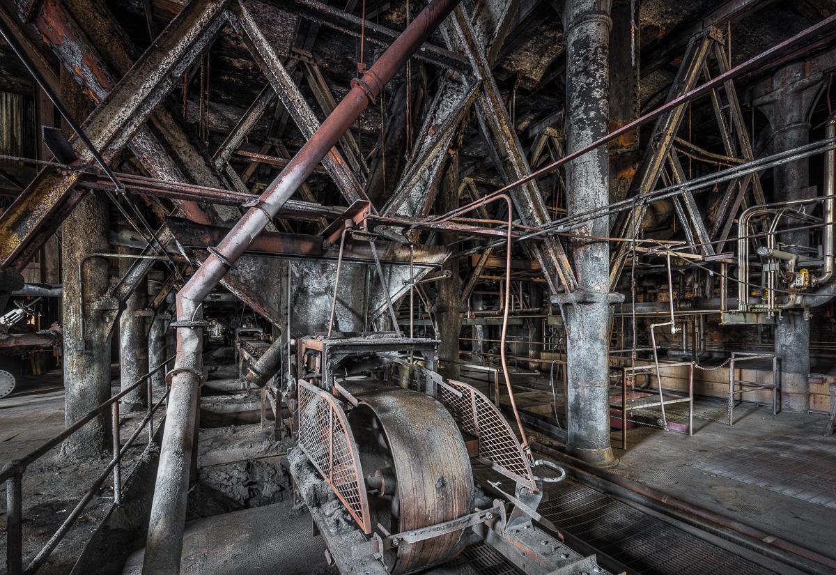La fabbrica è stata chiusa nel 2004 / Paul Raphaelson