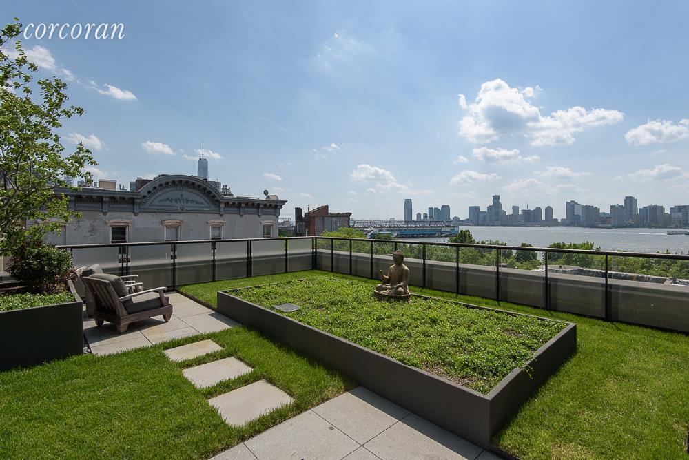 Un giardino di 140 m2