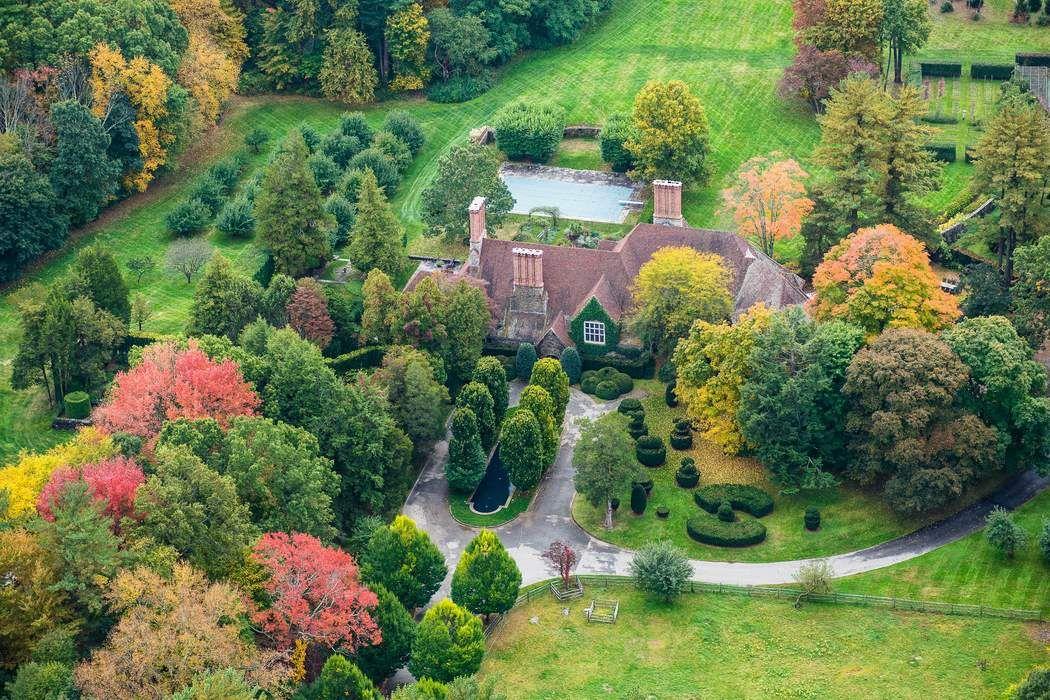 Vista aerea della proprietà / Sotheby's International Realty