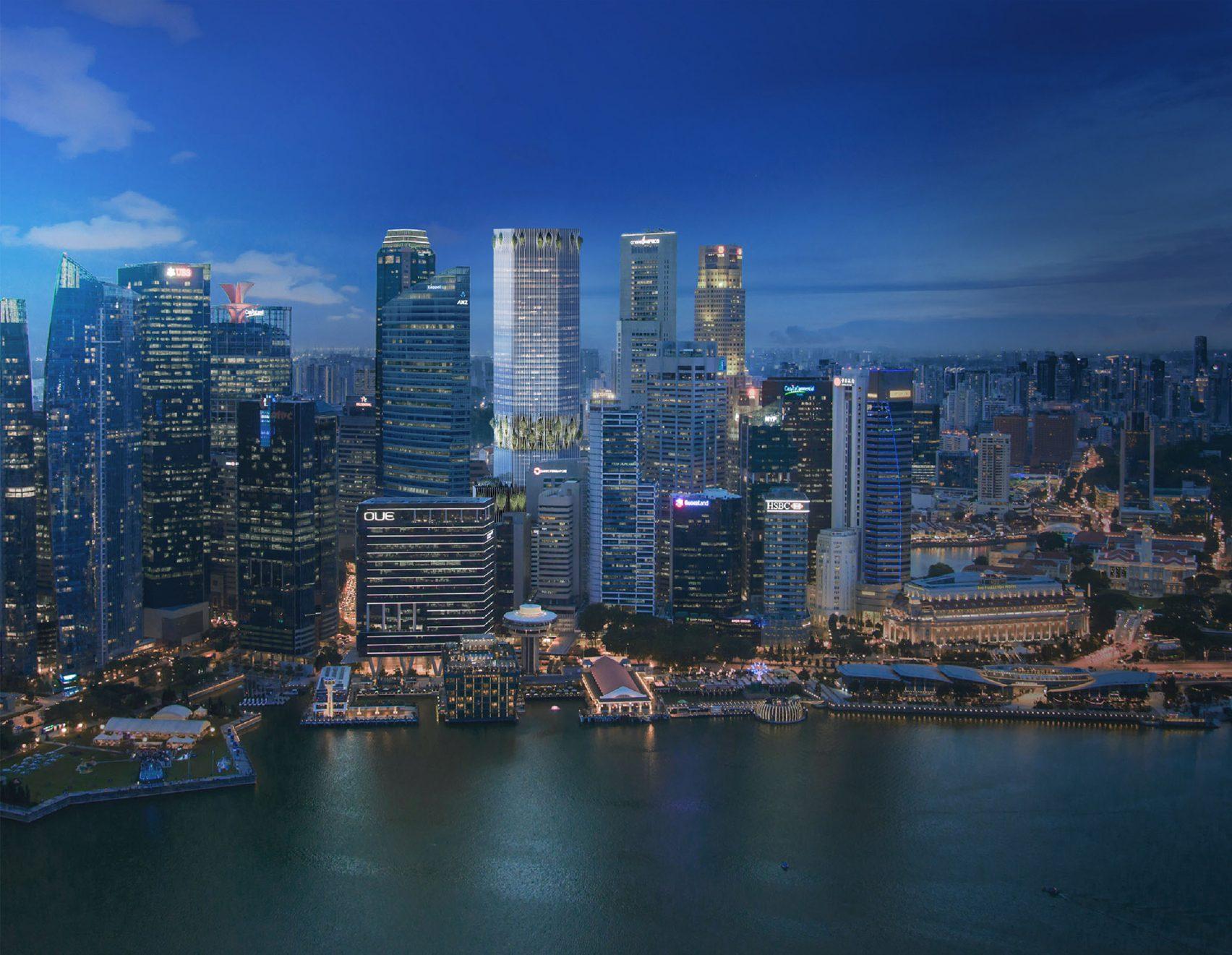 La vista di Singapore / Dezeen
