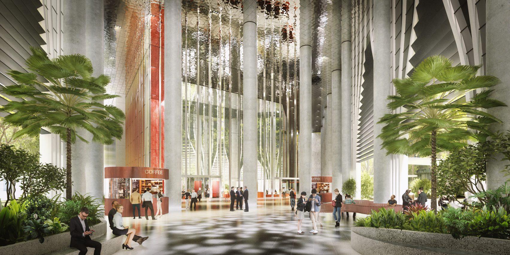 Il grattacielo avrà un bosco verticale a quattro piani / Dezeen