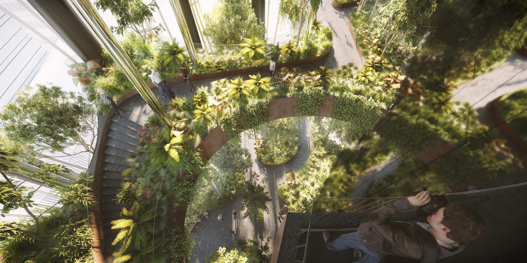 Per la struttura sono previsti 280 metri di altezza / Dezeen