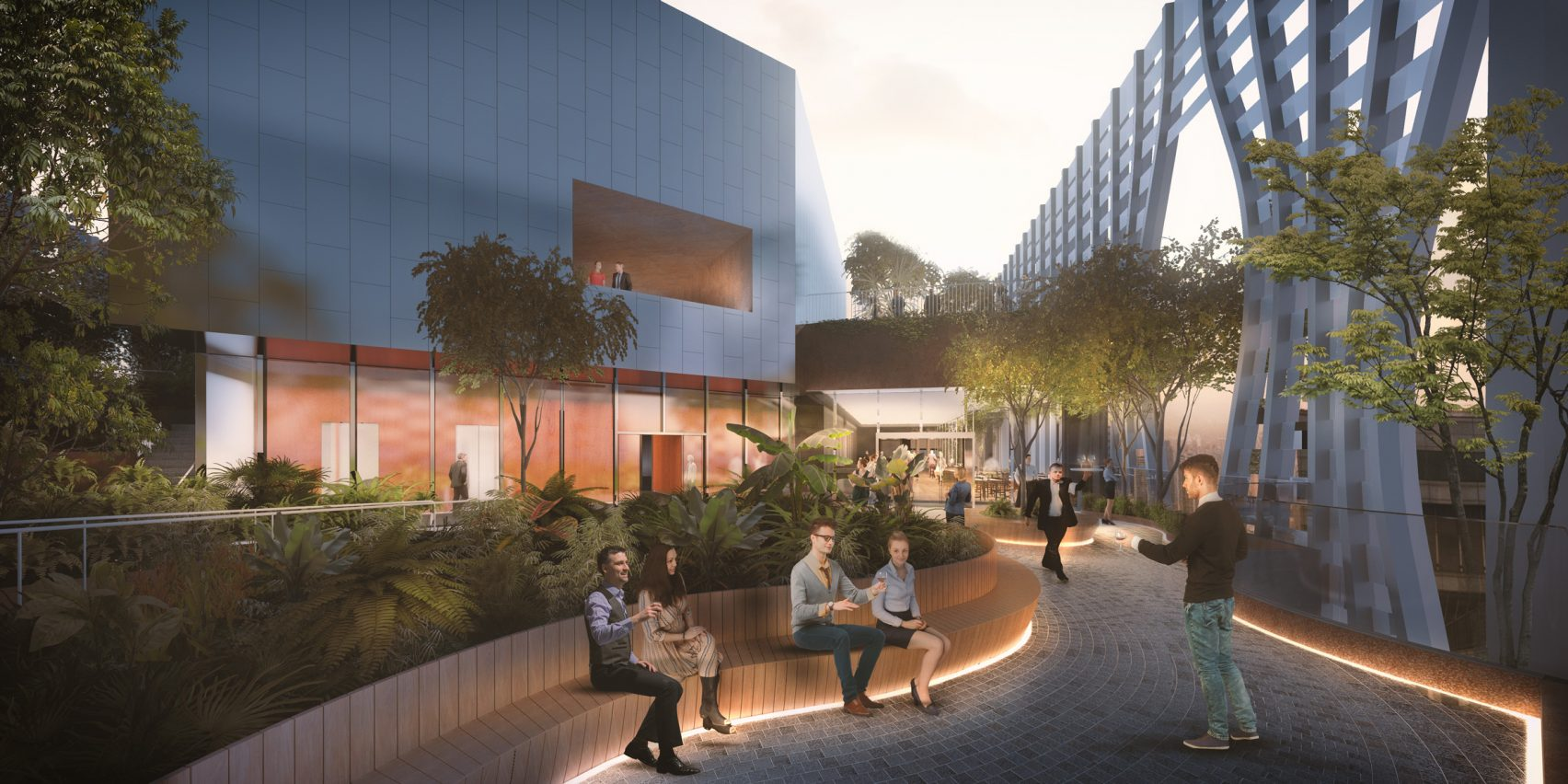 All'interno ci saranno uffici, ristoranti, strutture per il tempo libero e abitazioni / Dezeen