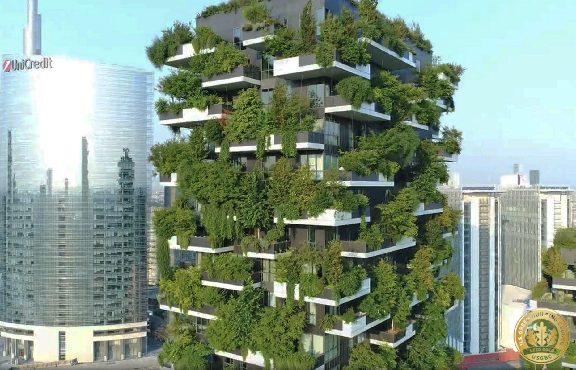 Il Bosco verticale di Milano è stato il primo edificio del genere /  Stefano Boeri Architetti