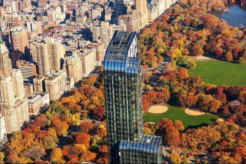 One57 si trova proprio di fronte a Central Park / One57