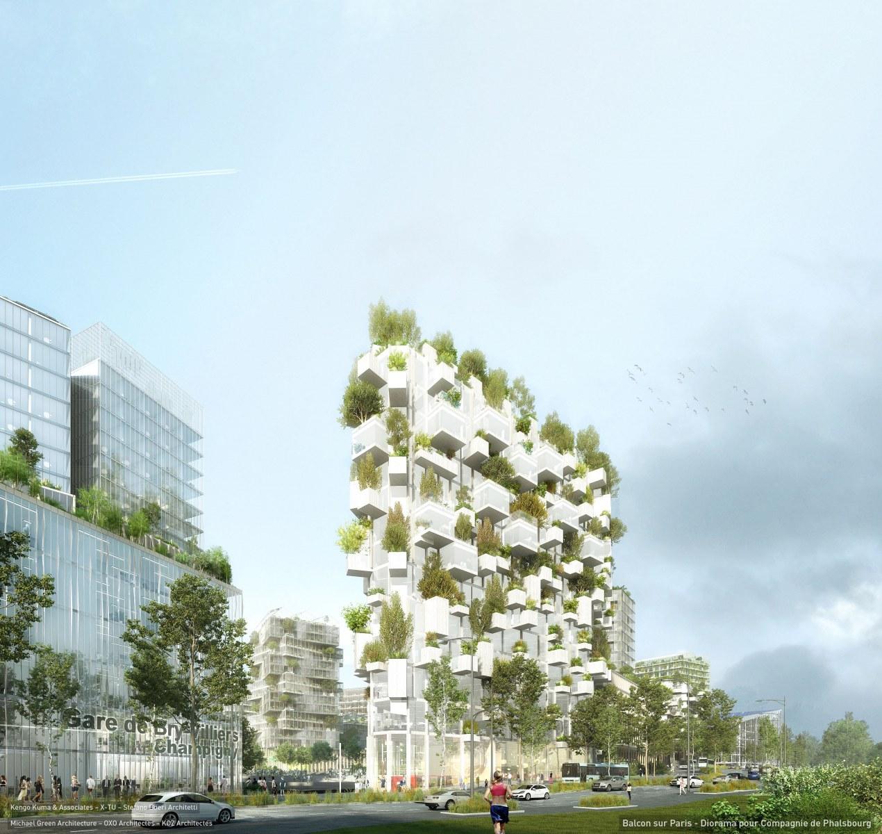 L'edificio avrà 10.000 metri quadrati di bosco /  Stefano Boeri Architetti