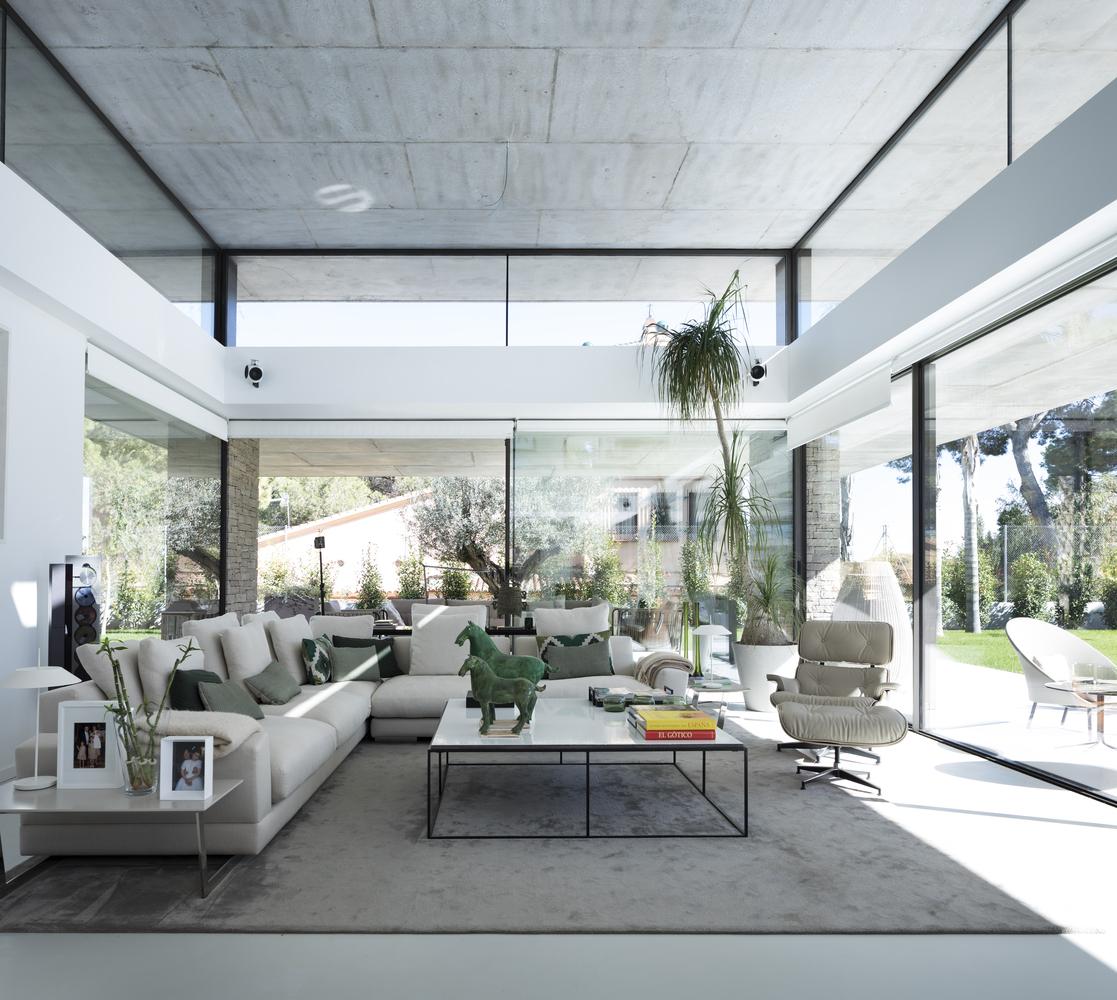 La casa ha una superficie di 600 m2 / Alfonso Calza