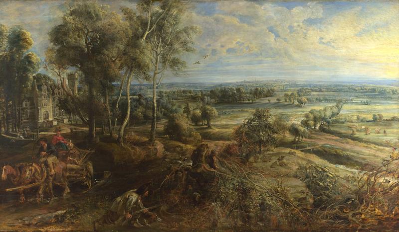 Questo quadro dipinto da Rubens mostra la proprietà / Engel & Völkers