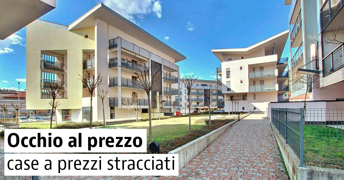 Case scontate in vendita a meno di 200.000 euro