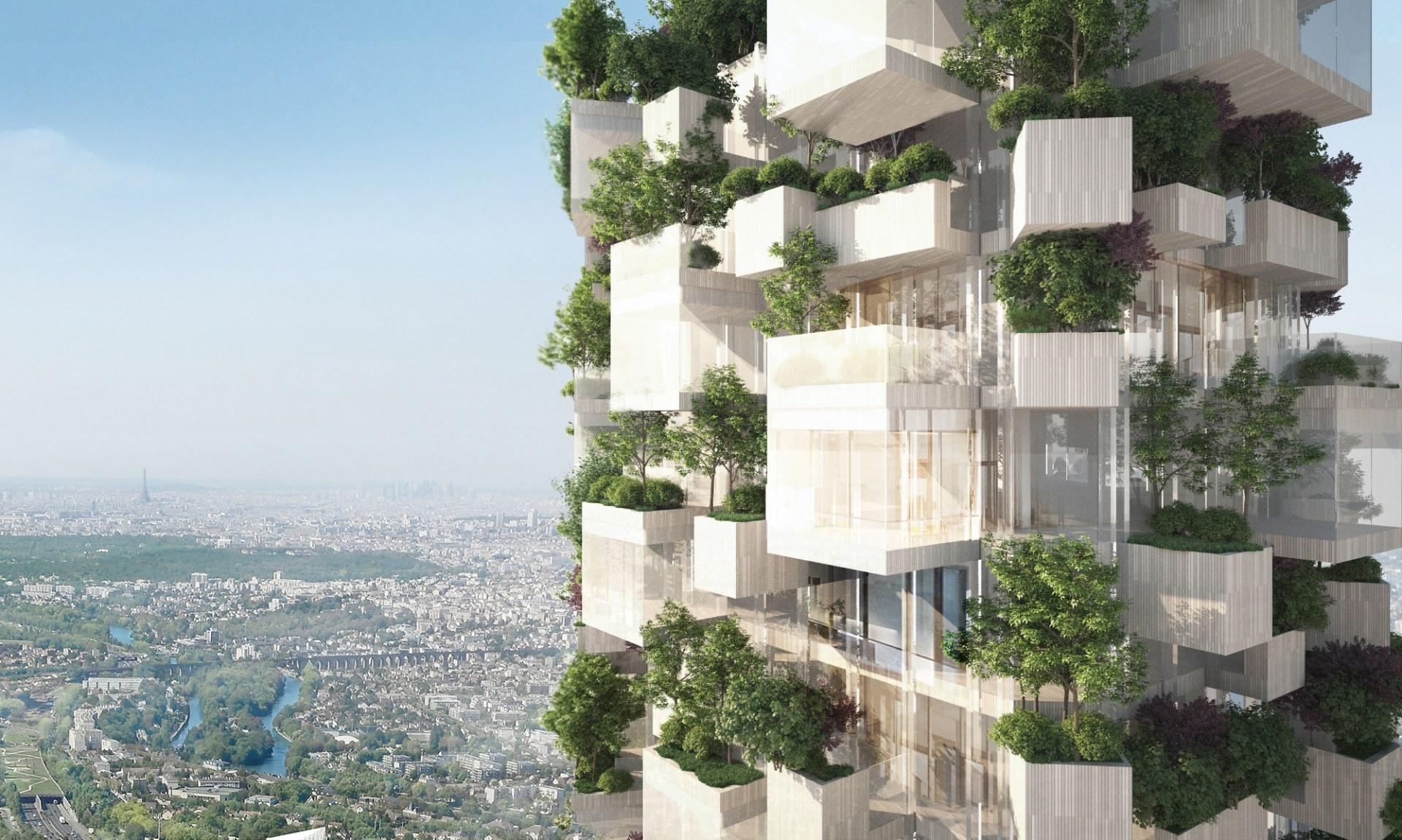 La torre avrà un'altezza di 54 metri /  Stefano Boeri Architetti