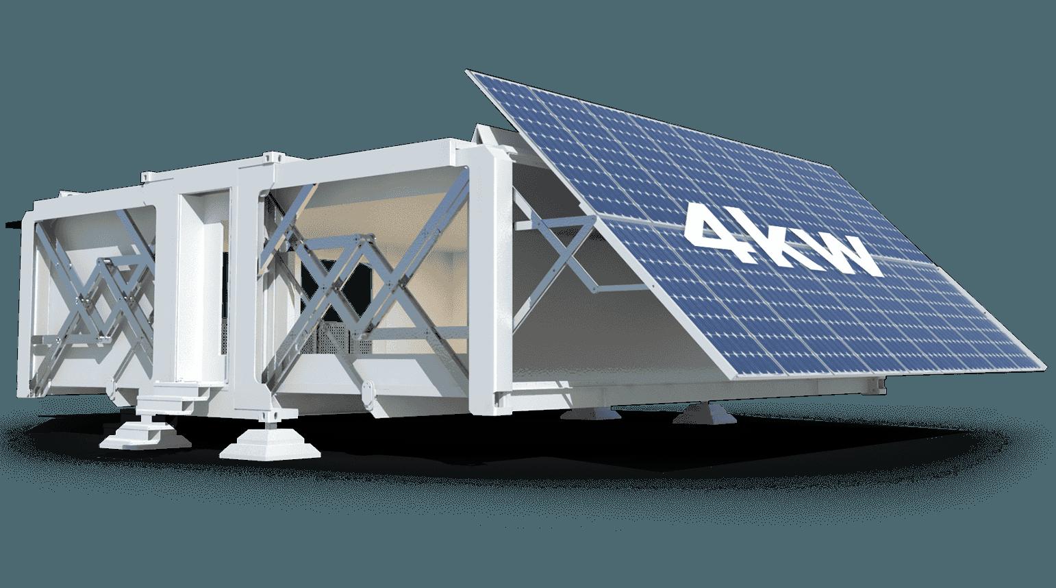 Dispone di pannelli solari